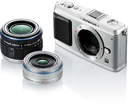 Olympus-E-P1-Camera-(with-14-42m-f/3.5-5.6-II-R-With-17mm-F/2.8)