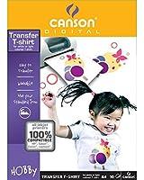 Canson- Papier Transfert A4 pour T-Shirt 10 feuilles