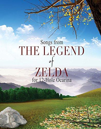Legend of Zelda Songbook for 12 Hole Ocarinas