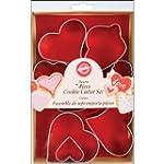 Wilton 7-Piece Metal Heart Cookie Cut...