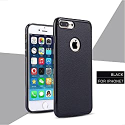 iPhone 7 Case, Laprite Slim Premium Matte Design Anti Dropping TPU Protection Back Cover for iPhone 7 ( Plain, Black )