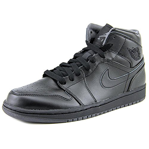 12. Nike AIR JORDAN 1 MID mens basketball-shoes 554724