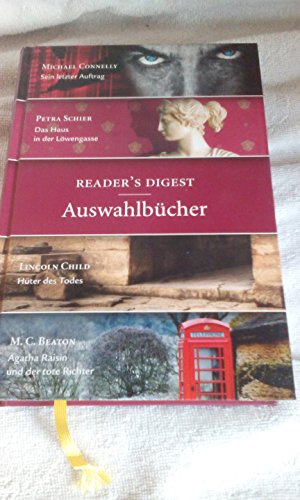 readers-digest-auswahlbucher-michael-connelly-sein-letzter-auftrag-petra-schier-das-haus-in-der-lowe