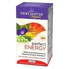 (降价)New Chapter新章Perfect Energy完美能量有机全食物综合营养素72粒S&S$23.19