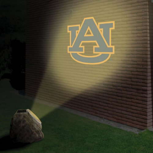"7"" NCAA Auburn Tigers Sports Solar Powered LED Logo Projection Rock at Amazon.com"