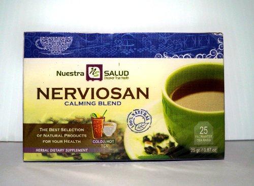 Nerviosan - Calming Blend Filter Tea 3 Pack