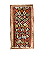 RugSense Alfombra Persian Old Kilim Kashkai Marrón/Multicolor 254 x 115 cm