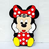 Minnie Mouse Silicone Back Case Cover For Samsung Galaxy Grand 2 G7106