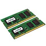 Crucial CT2C4G3S1067MCEU - 8GB (4GBX2) DDR3-1066 SODIMM - CL7 PC3-8500 204PIN FOR MAC