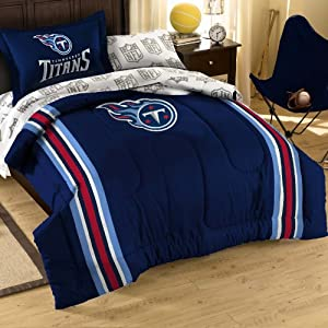 Tennessee Titans Bed in a Bag Comforter Set by Northwest