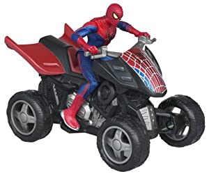 Spider Man Zoom N' Go Pull Back Vehicles - SPIDER QUAD