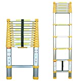 Abbey Telescopic Ladder 3.8m With Free Bag