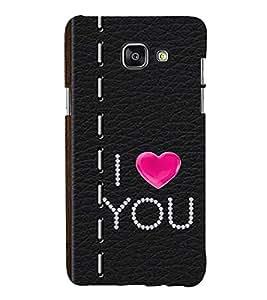99Sublimation I love You lot 3D Hard Polycarbonate Designer Back Case Cover for Samsung Phones