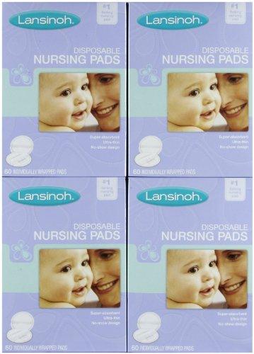 Lansinoh Nursing Pads - Disposable - 60 ct - 4 pk