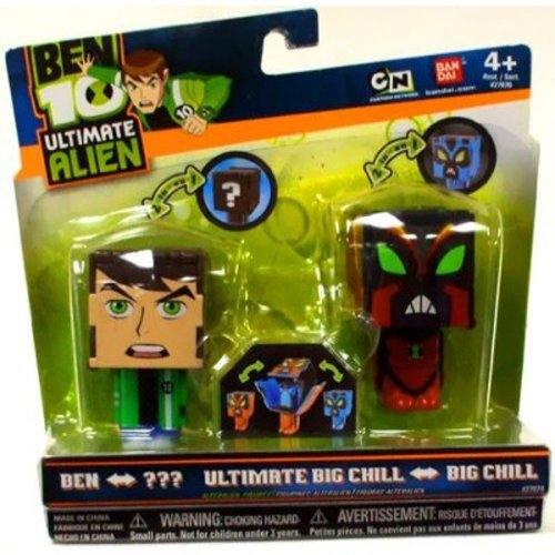 Ben 10: Ben to NRG and Big Chill to Ultimate Big Chill AlterAlien Figures