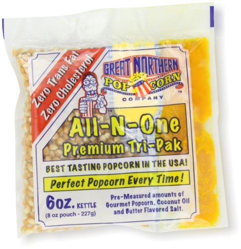 Great Northern Popcorn, 6-Ounce Portion Packs (Pack of 24) (6oz Popcorn Packs compare prices)