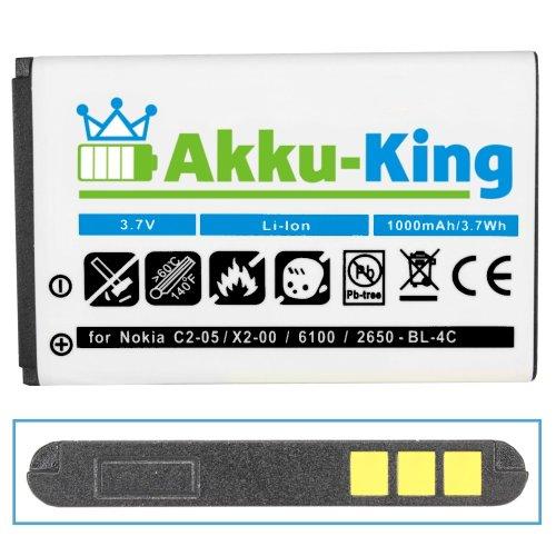 Akku-King Akku für Nokia C2-05,