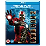 Iron Man 2 - Triple Play (Blu-ray + DVD + Digital Copy) [2010]by Robert Downey Jr.