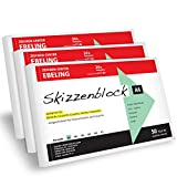 ZEICHEN-CENTER EBELING mySketchpad Skizzenblock 3er Vorteilspack A6