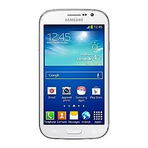 Samsung Galaxy Grand plus Smartphone débloqué 4G (Ecran : 5 pouces - 8 Go - Double SIM - Android 4.2.1 Jelly bean) Blanc