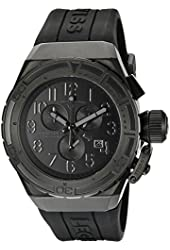 Swiss Legend Men's 'Trimix Diver' Swiss Quartz Stainless Steel Casual Watch (Model: 13842-BLK-GRYA)