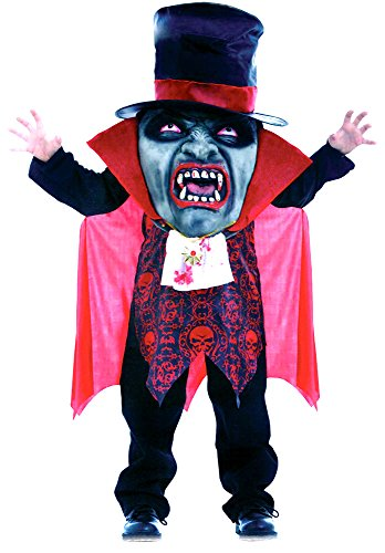 Kids Boys Girls Halloween Costume Outfit Vampire, Zombie, Evil & Mr Hyde Mad Hatter Fancy Dress Party (Medium (Age 7-9), Vampire Mad (Mad Hatter Fancy Dress)