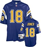 Charlie Joiner San Diego Chargers Blue NFL Premier 1984 Throwback Jersey - Large at Amazon.com