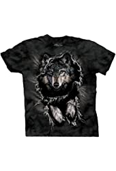 The Mountain Men's Breakthrough Wolf Short Sleeve Tee