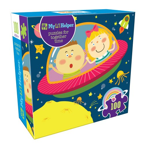 DB & Company Kids in Space Puzzle (100-Piece)