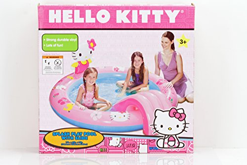 Hello-Kitty-Splash-Play-Pool-with-Slide