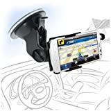 Celicious Fit-In Dedicated Car Suction Mount Holder for HTC Sensation XL [Can be Mounted in any Angle or Orientation] [Lifetime Warranty]