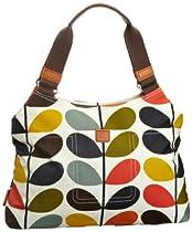 Hot Sale Orla Kiely Matt Laminated Nautical Multi Stem Classic Shoulder 13SENMS024-9600-00 Shoulder Bag,Multi,One Size