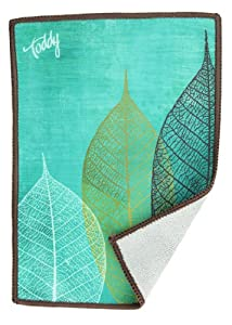 Toddy Gear 15X7B10004 5 x 7 Inches Premium Microfiber Smart Cloth for Touch Screen Devices - Tree Wisemen Teal