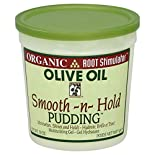 Organic Root Moisturizing Gel, Smooth-N-Hold Pudding, Olive Oil, 13 oz (368.5 g)