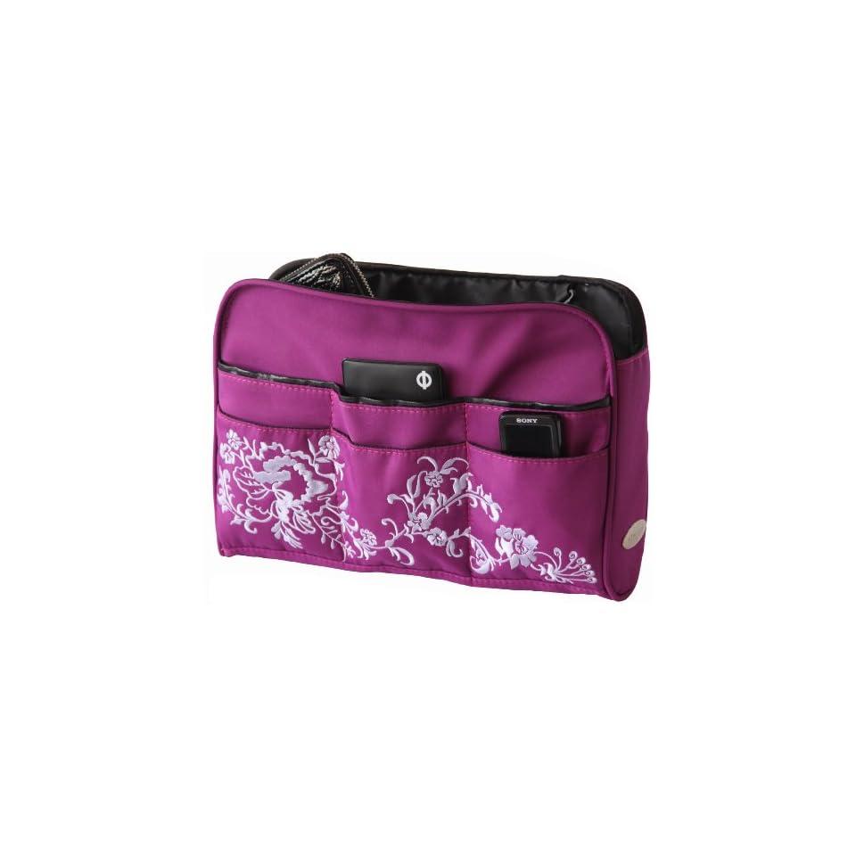 8a76d06b013a Oliepops Purple Floral Handbag   Purse Organizer Insert Limited Edition