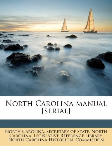 North Carolina manual [serial]