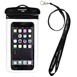 CASE FACTORY 防水ケース AQUA MARINA for iPhone6s Plus,iPhone6s 【 防水保護等級 IPX8 】ネックストラップ付属 AAM-002 黒