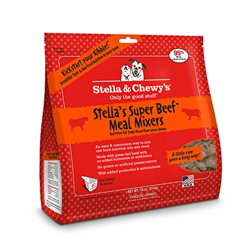 Stella & Chewy's Freeze-Dried Raw Super Beef Meal Mixers Dog Food Topper, 18 oz bag (Freeze Dried Pet Food compare prices)