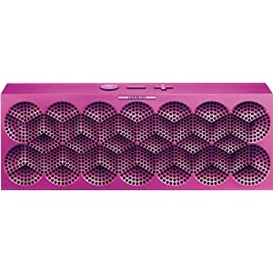MINI JAMBOX by Jawbone Wireless Bluetooth Speaker - Purple Snowflake - Retail Packaging (Discontinued by Manufacturer)