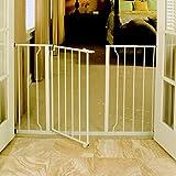 Regalo Baby Regalo Easy Open Extra Wide Metal Walk Through Safety Gate