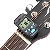 Neewer Lightweight & Portable Mini Digital Beat Tempo Metronome--Black with Clear LCD Screen and Cell Battery