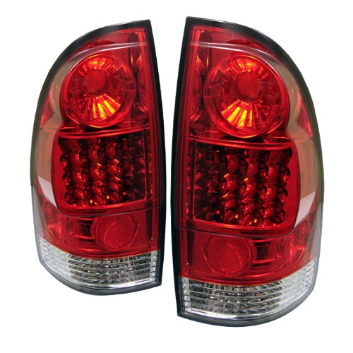 Spyder Auto Toyota Tacoma Red Clear Led Tail Light