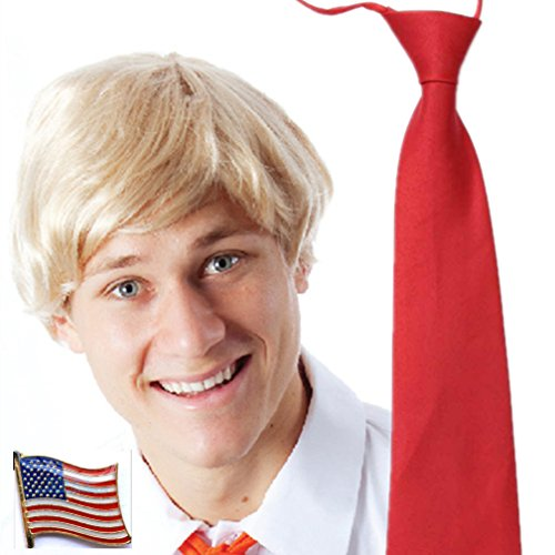 Costume Wig Tie and Pin