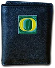 NCAA Leather Tri-Fold Wallet by Siskiyou Sports