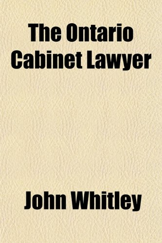 The Ontario Cabinet Lawyer