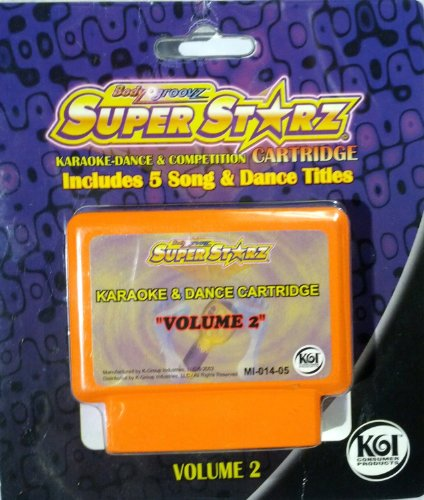 Body Groovz Super Starz Cartridge, Volume 2 - 1