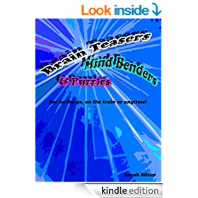 Brain Teasers, Mind Benders & Puzzles for on the go, on the train or anytime!