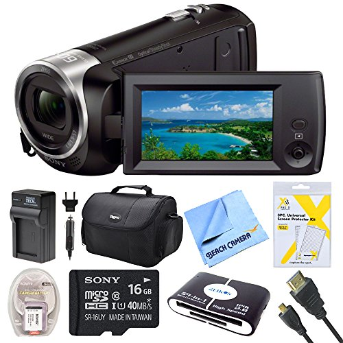 sony-hdrcx405-hdr-cx405-cx405-video-recording-handycam-camcorder-bundle-with-deluxe-bag-16gb-mico-sd