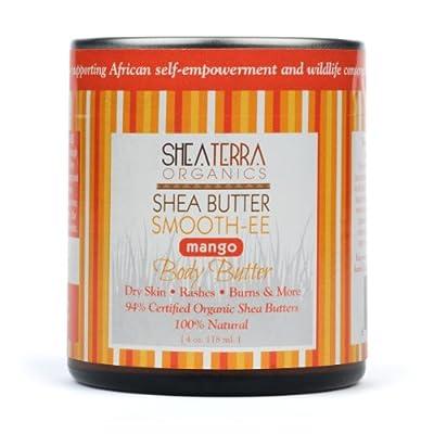 Shea Terra Mango Shea Butter Smoothee 4 oz.