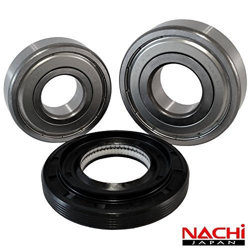 "Nachi High Quality Front Load Kenmore by LG Washer Tub Bearing and Seal Kit. Fits tank 4036ER2003A (5 year replacement warranty and full HD ""How To"" video included)"